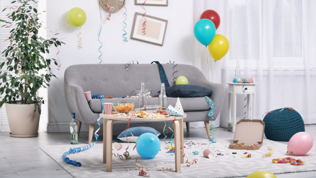 Cut Down on Household Clutter By Throwing a Downsizing Party