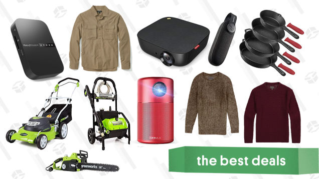 Saturday's Best Deals: Video Games, Anker Products, Greenworks Tools, and More