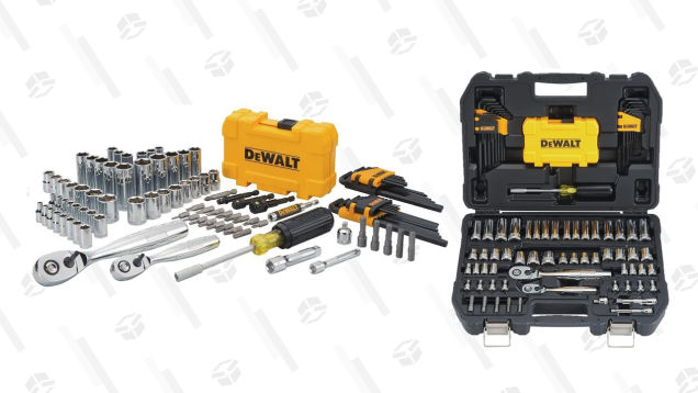 This 108-Piece Tool Set by DEWALT Is Only $70 (50% off)