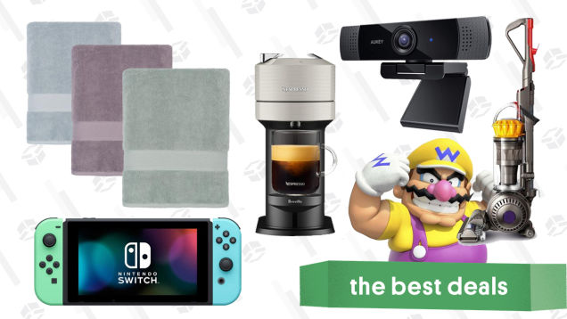 Thursday's Best Deals: New iPad Air, Crane & Canopy Bath Towels, Atlas Coffee, Dyson Ball Vacuum, Aukey Webcam, and More